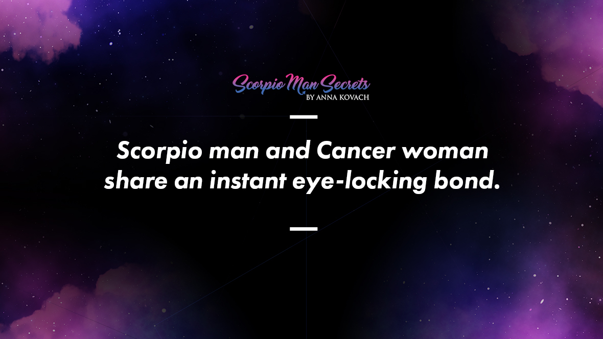 Scorpio Man and Cancer Woman Love Compatibility