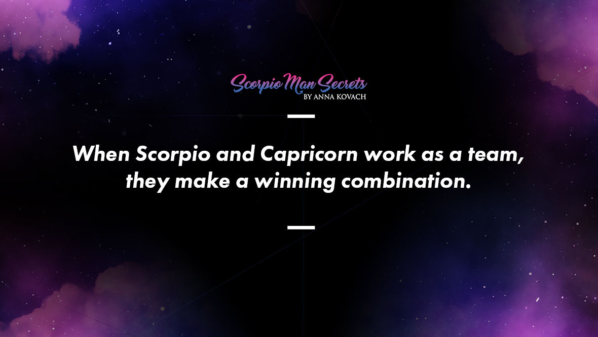 Scorpio Man and Capricorn Woman Love Compatibility
