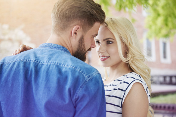 Flirting couple in summer day - How To Flirt With A Scorpio Man Effectively