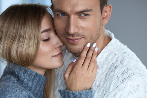 Portrait Of Happy Beautiful Couple In Love - Healthy Scorpio Man Relationships