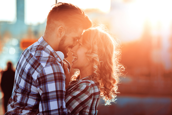 Young couple in love outdoor - What Are The Best Reasons to Get Involved With a Scorpio Man