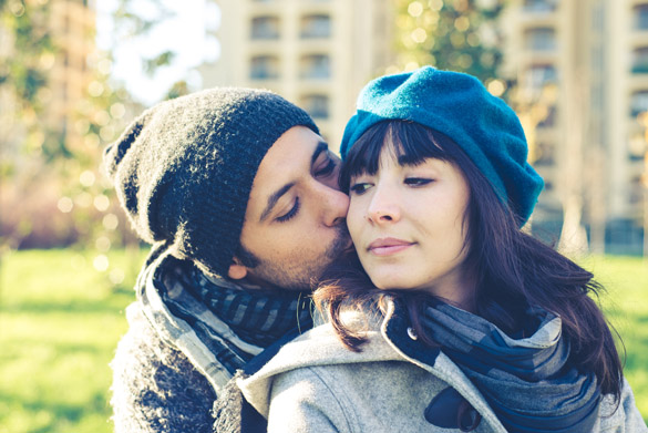 couple in love in autumn - What Does the Scorpio Man Need From a Woman