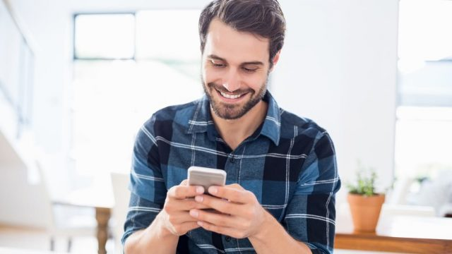 Scorpio Man Melting After Being Texted